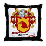 Monroe Coat of Arms Throw Pillow