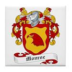 Monroe Coat of Arms Tile Coaster