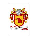 Monroe Coat of Arms Mini Poster Print