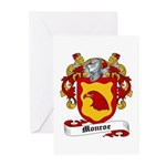 Monroe Coat of Arms Greeting Cards (Pk of 10)