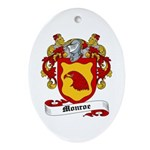 Monroe Coat of Arms Oval Ornament