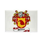 Monroe Coat of Arms Rectangle Magnet
