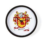Monroe Coat of Arms Wall Clock