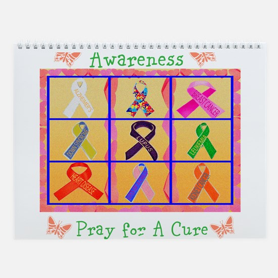 Awareness Wall Calendar