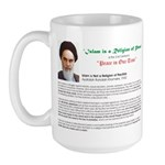 Ayatollah on Islam Large Mug
