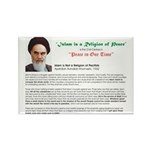 Ayatollah on Islam Rectangle Magnet (10 pack)