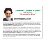 Ayatollah on Islam Small Poster