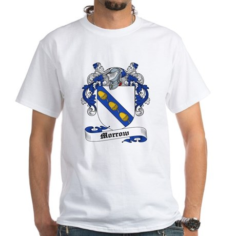 Morrow Coat of Arms White T-Shirt