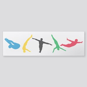 Diving Divers Sticker (Bumper)