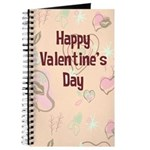 Happy Valentine's Day Retro Journal