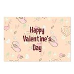 Happy Valentine's Day Retro Postcards (Package of
