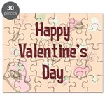 Happy Valentine's Day Retro Puzzle