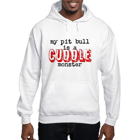 My Pit Bull Is... Hooded Sweatshirt