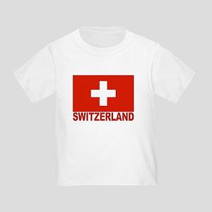 Switzerland Flag Toddler T-Shirt