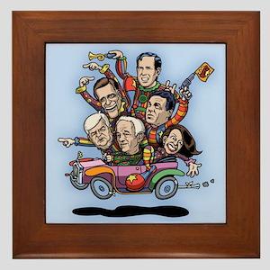GOP Primary Car Framed Tile