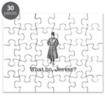 What ho, Jeeves? Puzzle