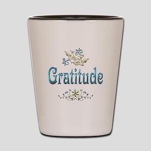 Gratitude Shot Glass