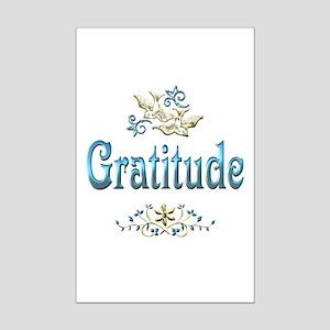 Gratitude Mini Poster Print