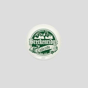 Breckenridge Old Green Mini Button