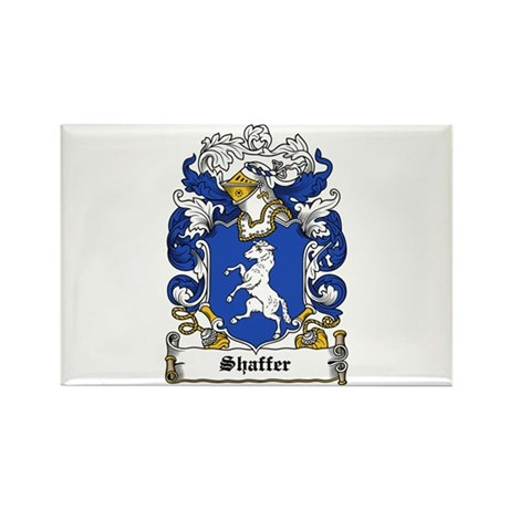 Shaffer Coat of Arms Rectangle Magnet