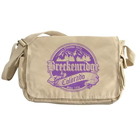 Breckenridge Old Violet Messenger Bag