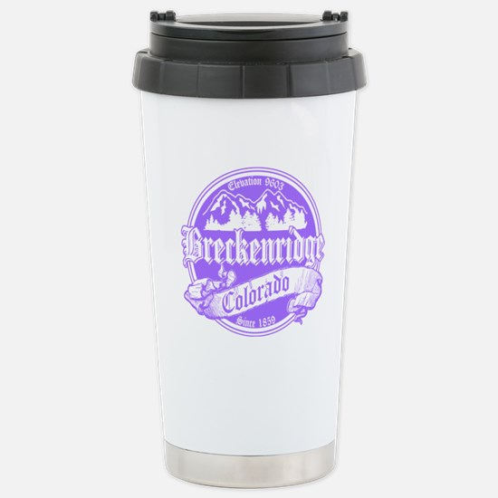 Breckenridge Old Violet Stainless Steel Travel Mug