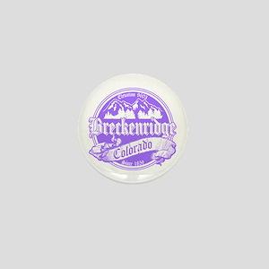 Breckenridge Old Violet Mini Button