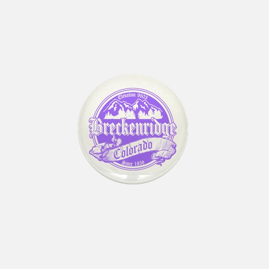 Breckenridge Old Violet Mini Button