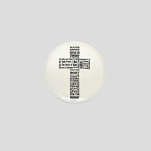 Names of Jesus Mini Button
