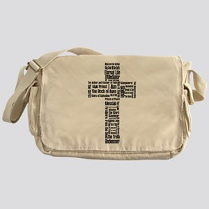 Names of Jesus Messenger Bag