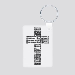 Names of Jesus Aluminum Photo Keychain