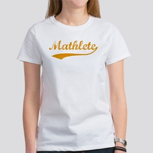 Vintage Mathlete 3 Women's T-Shirt