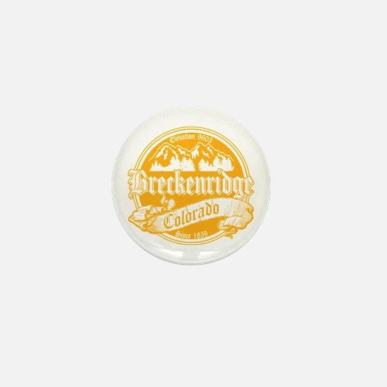Breckenridge Old Gold Mini Button