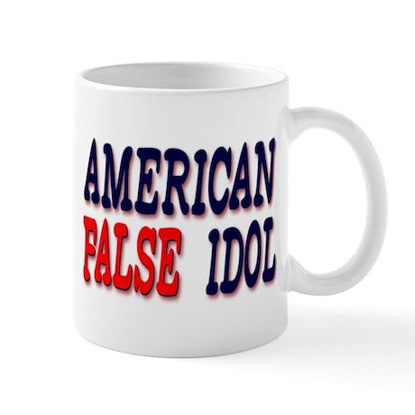 False American Idol Mug