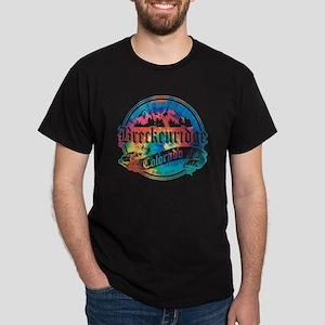 Breckenridge Old Tie Dye Dark T-Shirt