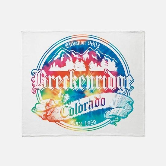 Breckenridge Old Tie Dye Throw Blanket
