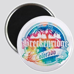 Breckenridge Old Tie Dye Magnet