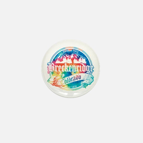 Breckenridge Old Tie Dye Mini Button