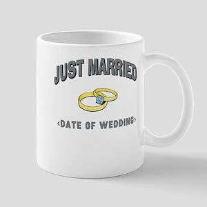 Just Married (Add Date of Wedding) Mug