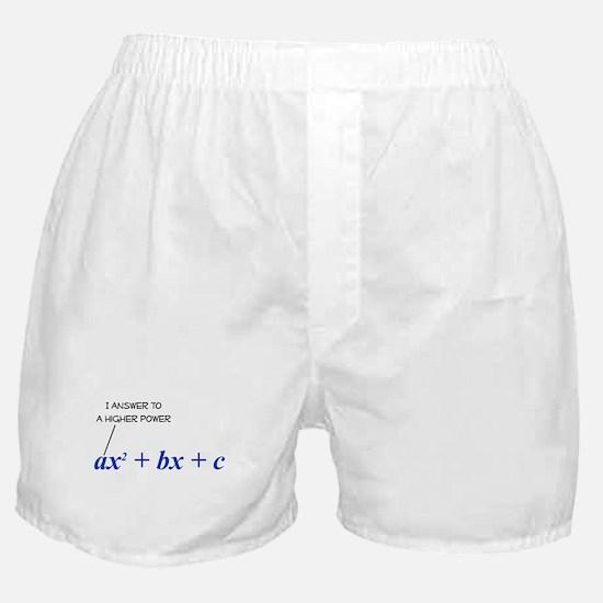 Higher Power Boxer Shorts