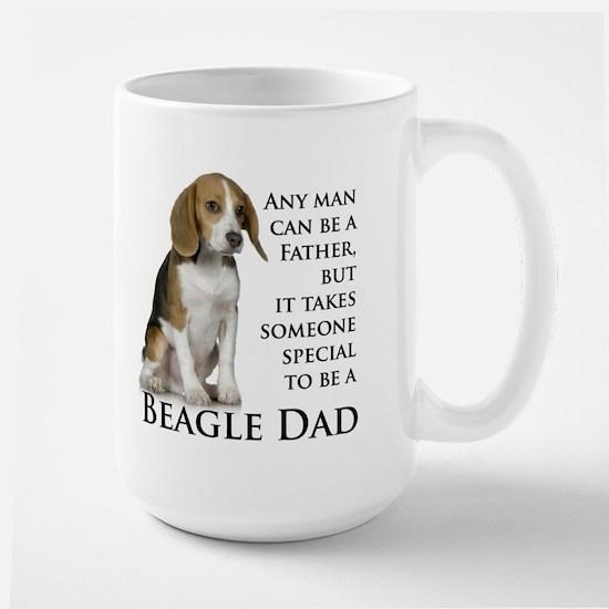 Beagle Dad Large Mug