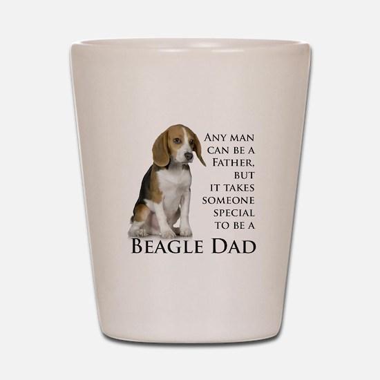 Beagle Dad Shot Glass