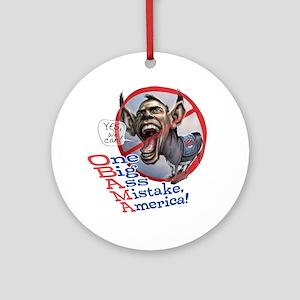 Obama Big Ass Ornament (Round)