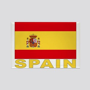 Spain Flag Rectangle Magnet