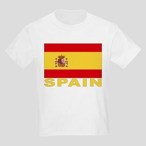 Spain Flag Kids T-Shirt