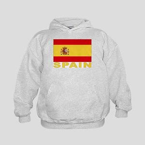 Spain Flag Kids Hoodie