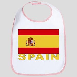 Spain Flag Bib