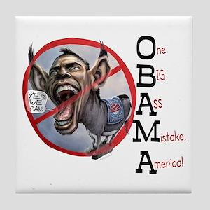 Obama Big Ass Tile Coaster