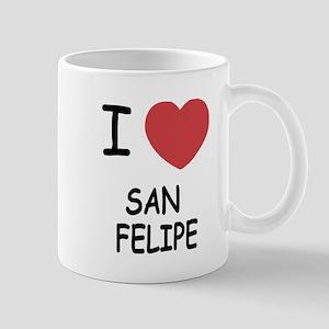 I heart san felipe Mug