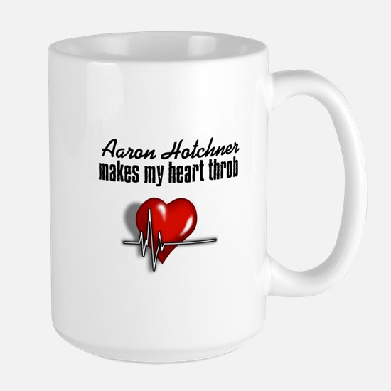 Aaron Hotchner makes my heart throb Large Mug